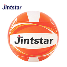 Factory Best Price Custom Printed Beach Volleyball Balls Standard Size Rubber Plastic Volleyball