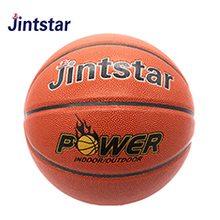 2018 Cheap laminated standard PU leather hot selling basketball in bulk