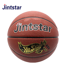 Factory directly sale basketball ball size 5 laminated with custom design