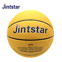 Jintstar high quality laminated PU leather basketball for training