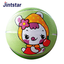 Professional mini rubber basketball toy for kids