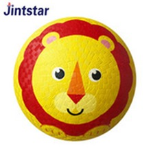Soft touch rubber playground ball toy for kids play