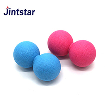 Jintstar wholesale yoga fitness peanut double massage balls