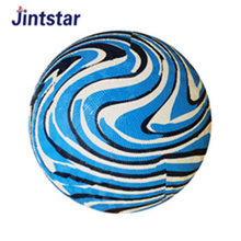 Factory directly sell rubber playground ball for kids outdoor playing