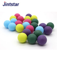 Colorful 40 plastic 3 star table tennis balls ping pong balls