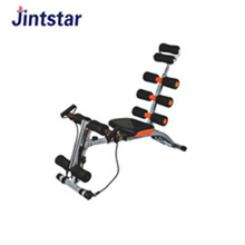 Commercial multi six power gym fitness equipment for indoor exercise
