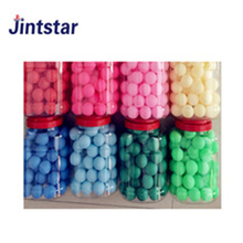 Wholesale colorful custom PP ping pong ball table tennis balls in bulk