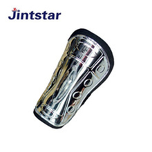 Wholesale custom plastic sports soccer shin guard for protecting