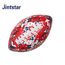 Custom rubber american football ball size 9 for training