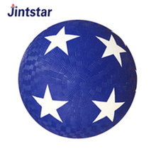 Promotional cheap rubber playground soft balls with good quality