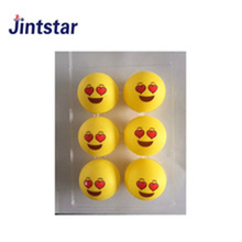 Wholesale Custom logo cheap colored ping pong balls table tennis ball