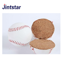 Custom cheap cork filling pu baseball
