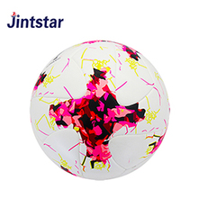Custom laminated pu football soccer ball