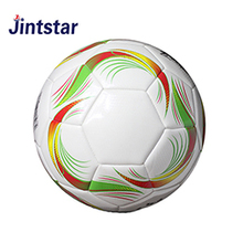 Factory direct sale durable machine stitched soccer ball official size and weight