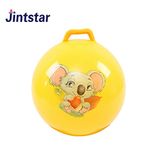 Jintstar cheap promotional jumping ball game PVC ball for kids