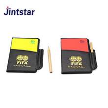 Soccer referee cheap red and yellow card set for soccer match
