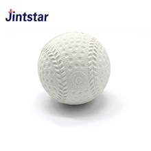 Jintstar wholesale cheap rubber baseball high quality white ball