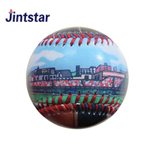2018 New cheap digital print baseball with custom design