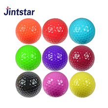 Hot selling custom one piece driving range golf ball