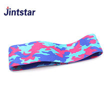 Custom mini camouflage elastic band colorful resistant bands