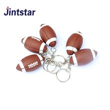 Promotional American football key chain football themed sports gift