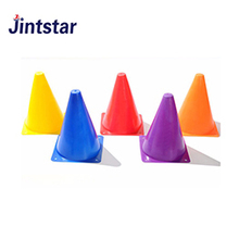 Plastic sports training cones marker set small soccer agility cones