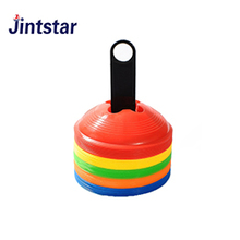 Customized color soccer marking cones agility marker disc cones