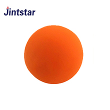 Custom silicone single lacrosse ball colorful rubber massage ball for yoga exercise