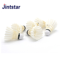 2018 high quality goose feather badminton shuttlecock for competition