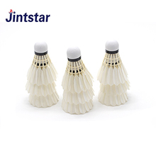 2018 hot sell duck feather cheap badminton shuttlecock