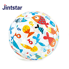 Promotional PVC inflatable beach ball custom logo giant ball