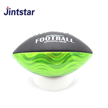 2018 New custom laser american football official size PVC ball