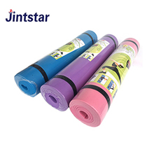 Jintstar NBR yoga mat manufacture eco friendly custom print yoga mat with yoga mat bag
