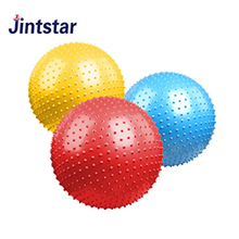 Cheap PVC spike ball exercise ball anti burst yoga balls