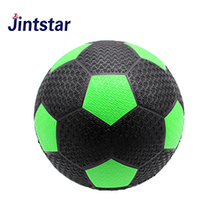 Cheap mini rubber soccer ball football customize size 3