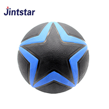 Colorful rubber basketball toy with low price for kids