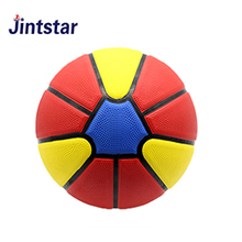 Customized mini rubber ball basketball size 3 7 rubber