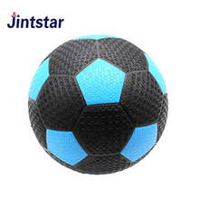 Jintstar custom deflated rubber design your own  soccer ball