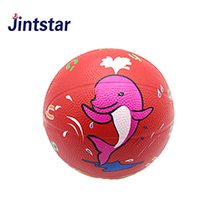 Personalized rubber mini basketball printed basketball