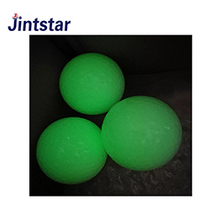 Night tracker green luminous fluorescent practice golf balls