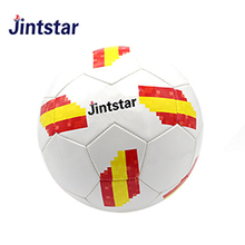 Wholesale pvc machine sewn soccer ball size 5 customize