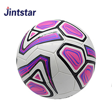 Cheap custom team promotional pvc leather soccer ball