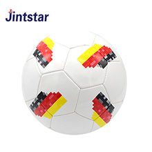 Jintstar cheap wholesale football custom team soccer ball