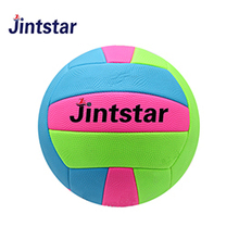 Machine stitched volleyball beach playing size 5 PVC PU ball