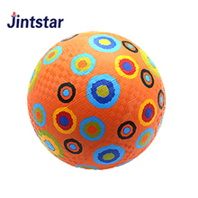 Playground ball colorful rubber playground ball for children