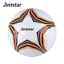 Custom pint hand stitched leather football soccer ball for wholesale
