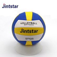 Factory cheap mini machine stitched size1 pvc volleyball with customer brand as gifts