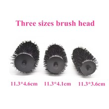 Professional detachable head hair brush set / hair brush manufacturing