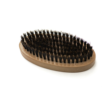 Round Shape Boar Bristle Beard Brush Amazon