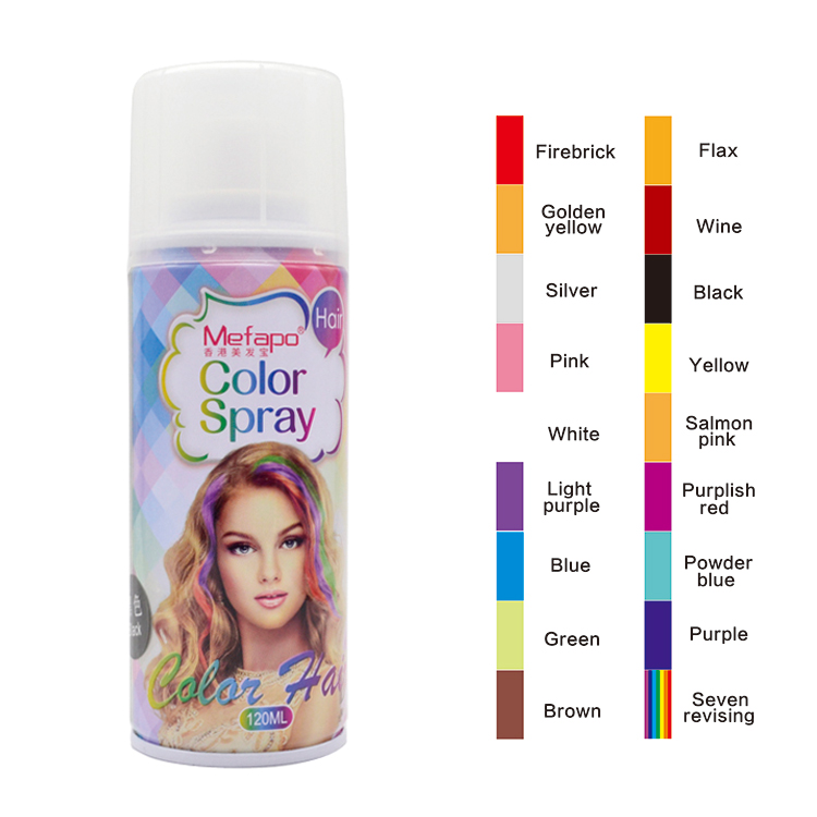 Hair Color Spray Temporary